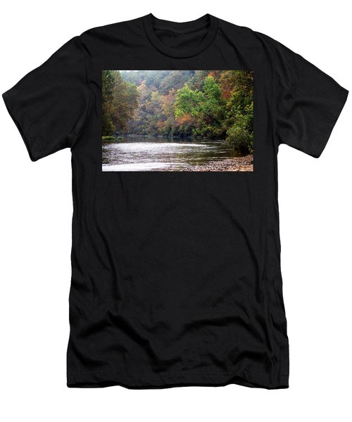 Current River 1 Men's T-Shirt (Athletic Fit)
