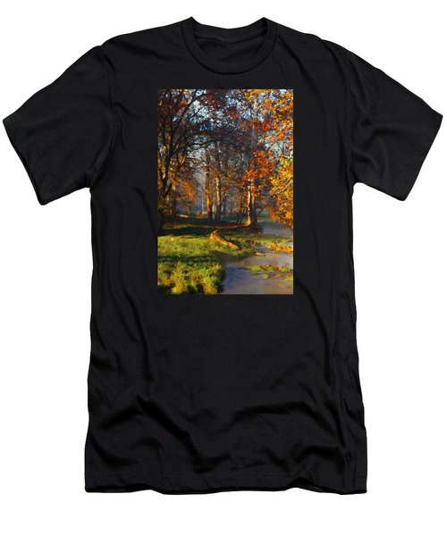 Curry Stream Fall Men's T-Shirt (Athletic Fit)