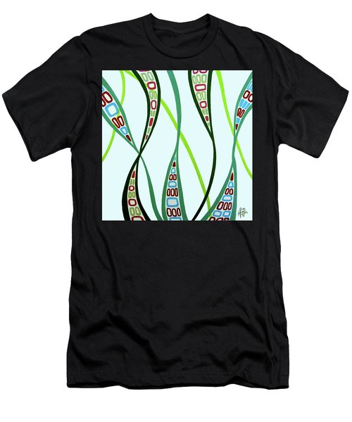 Curvaceous Men's T-Shirt (Slim Fit) by Tara Hutton