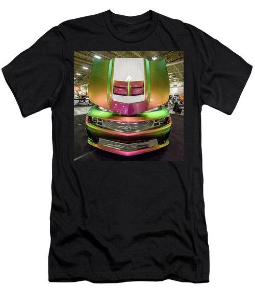 Men's T-Shirt (Slim Fit) featuring the photograph Custom Camaro by Randy Scherkenbach