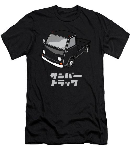 Custom Color Subaru Sambar Truck Men's T-Shirt (Athletic Fit)