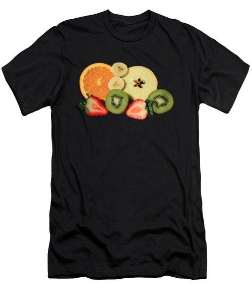 Cut Fruit Men's T-Shirt (Athletic Fit)
