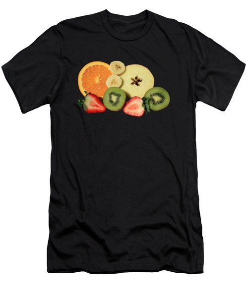 Cut Fruit Men's T-Shirt (Athletic Fit)