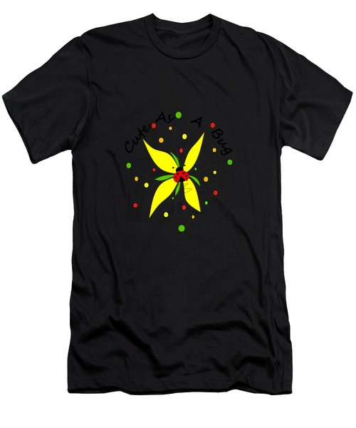 Cute As A Bug Men's T-Shirt (Athletic Fit)