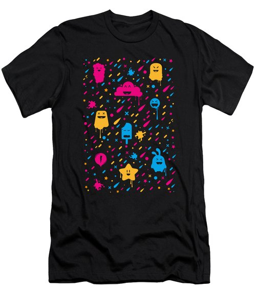 Cute Color Stuff Men's T-Shirt (Athletic Fit)