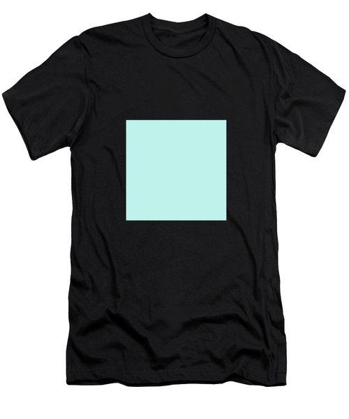 Cyan Ultra Soft Pastels Colour Palette Men's T-Shirt (Athletic Fit)