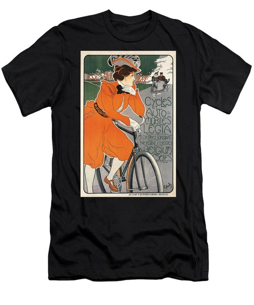 Cycles Et Automobiles Legia Poster 1898 Men's T-Shirt (Athletic Fit)