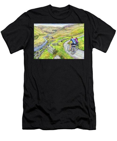 Lancashire Lanes I Men's T-Shirt (Athletic Fit)
