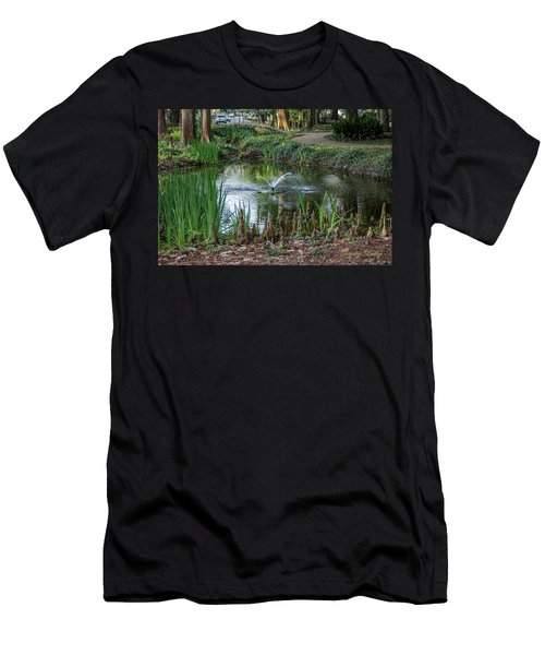 Cypress Knees 02 Men's T-Shirt (Slim Fit) by Gregory Daley  PPSA