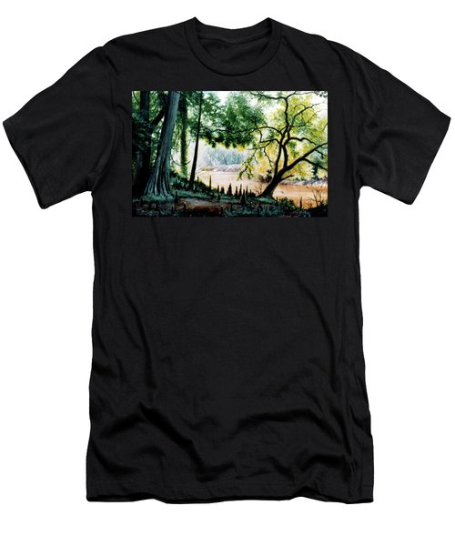 Cypress Knees Men's T-Shirt (Athletic Fit)