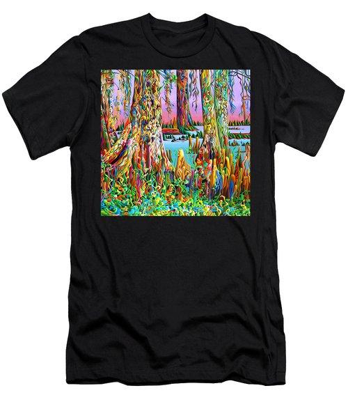 Cypress Spirit Rising Men's T-Shirt (Athletic Fit)
