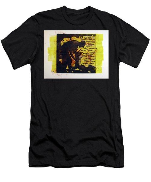 D U Rounds Project, Print 3 Men's T-Shirt (Athletic Fit)