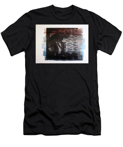 D U Rounds Project, Print 4 Men's T-Shirt (Athletic Fit)