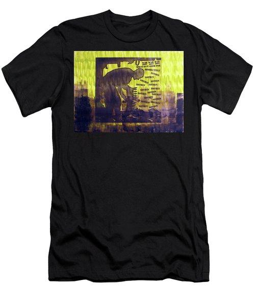 D U Rounds Project, Print 12 Men's T-Shirt (Athletic Fit)