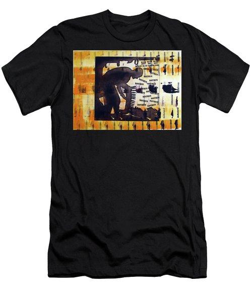 D U Rounds Project, Print 14 Men's T-Shirt (Athletic Fit)
