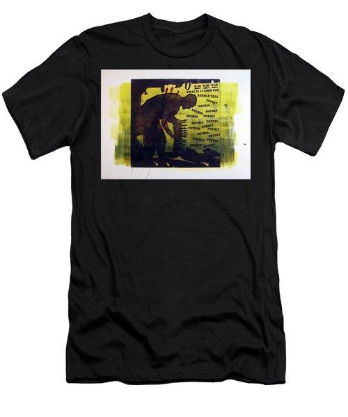 D U Rounds Project, Print 16 Men's T-Shirt (Athletic Fit)
