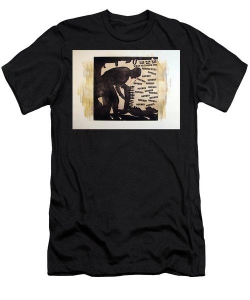 D U Rounds Project, Print 17 Men's T-Shirt (Athletic Fit)
