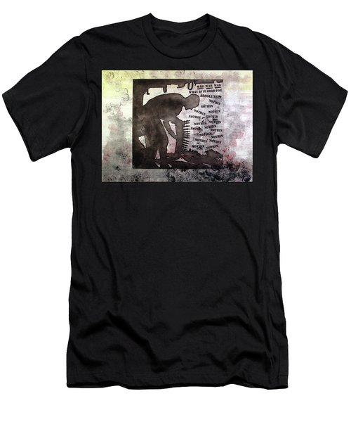 D U Rounds Project, Print 30 Men's T-Shirt (Athletic Fit)