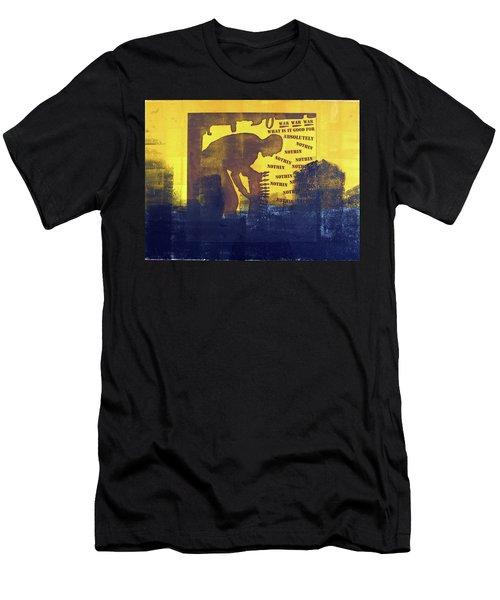 D U Rounds Project, Print 31 Men's T-Shirt (Athletic Fit)