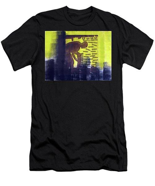 D U Rounds Project, Print 32 Men's T-Shirt (Athletic Fit)