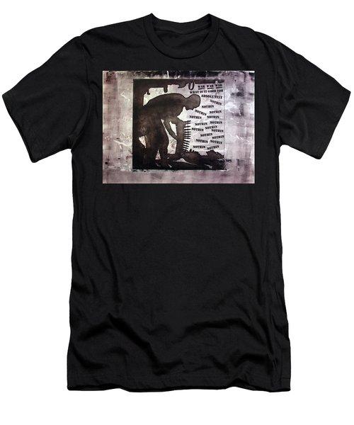 D U Rounds Project, Print 43 Men's T-Shirt (Athletic Fit)