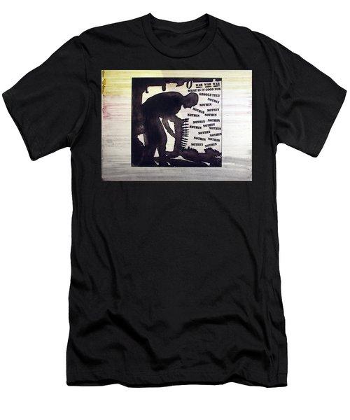 D U Rounds Project, Print 44 Men's T-Shirt (Athletic Fit)
