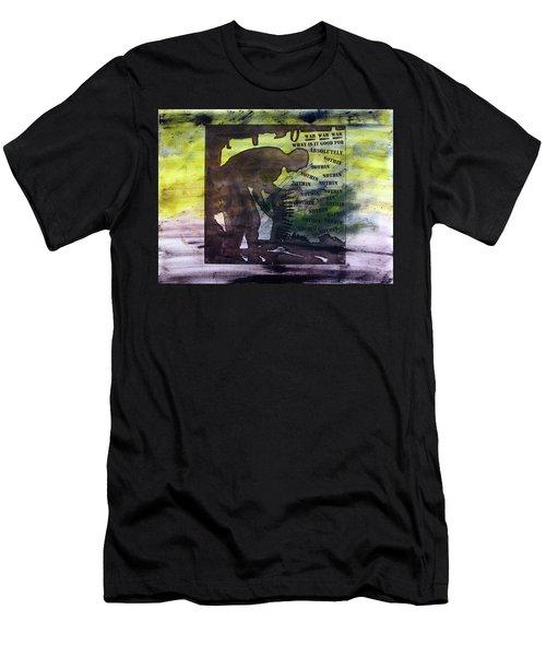 D U Rounds Project, Print 48 Men's T-Shirt (Athletic Fit)