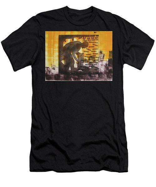 D U Rounds Project, Print 49 Men's T-Shirt (Athletic Fit)