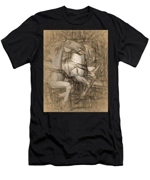 Da Vinci Carousel Men's T-Shirt (Athletic Fit)