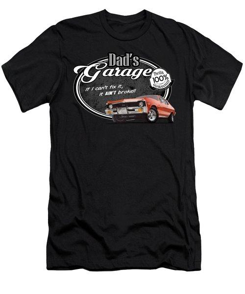 Dad's Garage With Nova Men's T-Shirt (Athletic Fit)