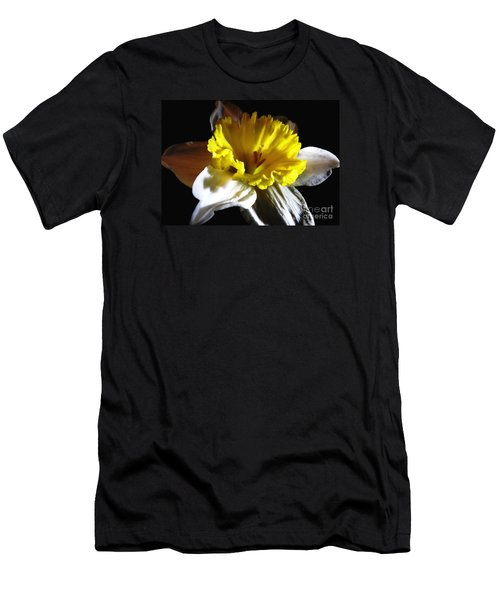 Men's T-Shirt (Slim Fit) featuring the photograph Daffodil 2 by Rose Santuci-Sofranko