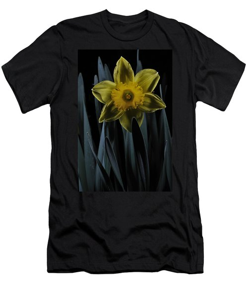 Daffodil By Moonlight Men's T-Shirt (Athletic Fit)