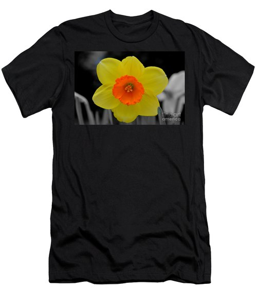 Daffodil Delight  Men's T-Shirt (Athletic Fit)
