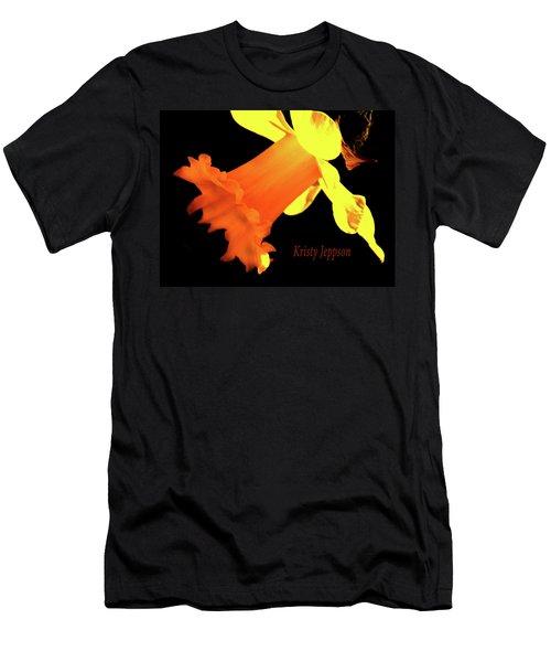 Daffodil Drama Men's T-Shirt (Athletic Fit)
