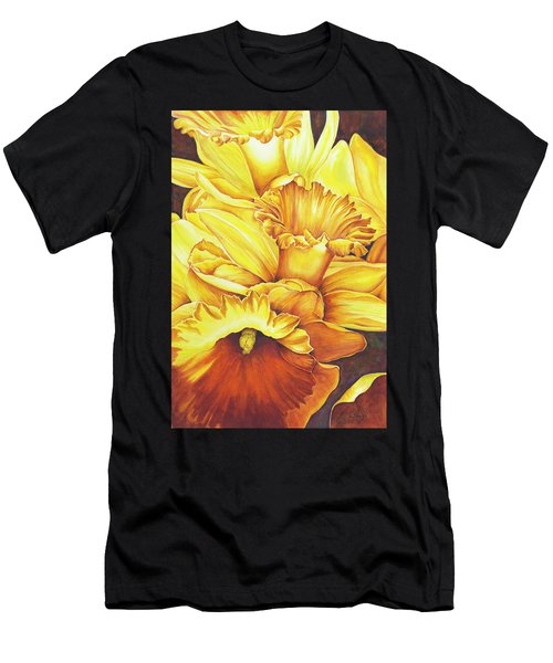 Daffodil Drama Men's T-Shirt (Athletic Fit)
