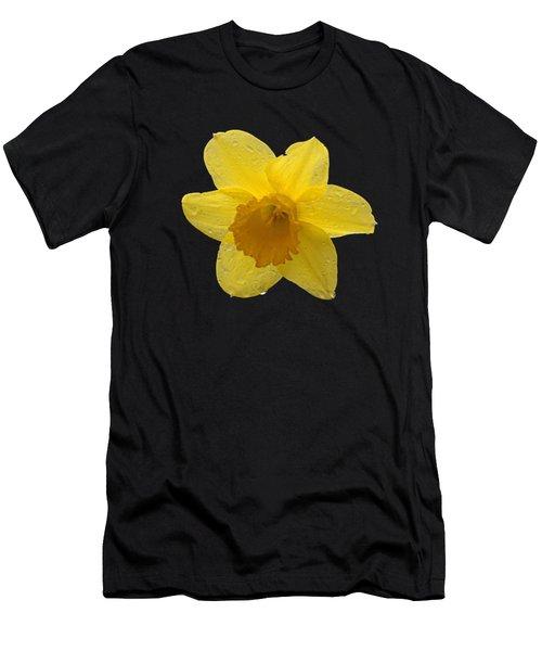 Daffodil Men's T-Shirt (Slim Fit) by  Newwwman