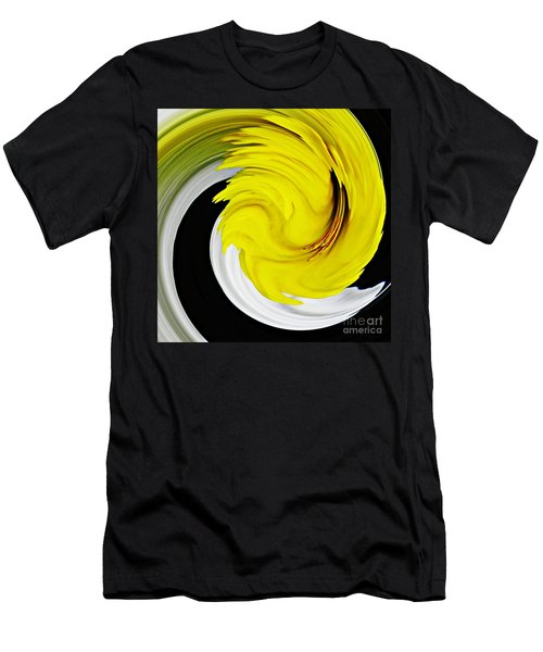 Daffodil Twist Men's T-Shirt (Athletic Fit)