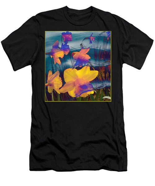 Daffodils #1 Men's T-Shirt (Athletic Fit)