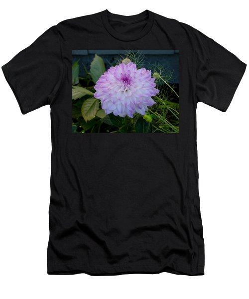 Dahlia Beautiful Men's T-Shirt (Slim Fit) by Shirley Heyn