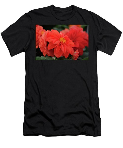Dahlia Bloomer Men's T-Shirt (Athletic Fit)