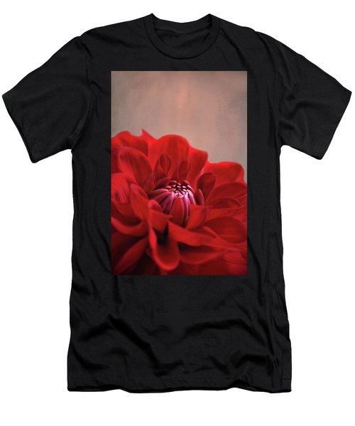 Dahlia Dalliance  Men's T-Shirt (Athletic Fit)