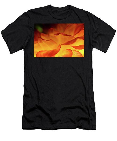 Dahlia Delight Men's T-Shirt (Athletic Fit)
