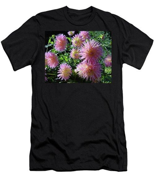 Dahlia Group Men's T-Shirt (Slim Fit) by Shirley Heyn