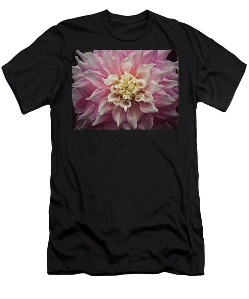 Dahlia Perfection Men's T-Shirt (Slim Fit) by Karen Stahlros
