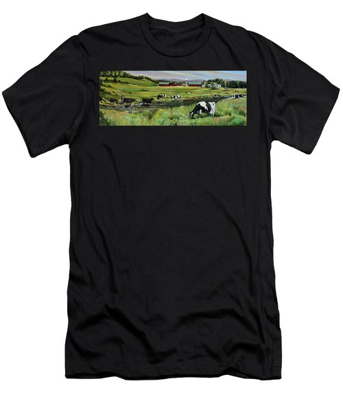 Dairy Farm Dream Men's T-Shirt (Athletic Fit)