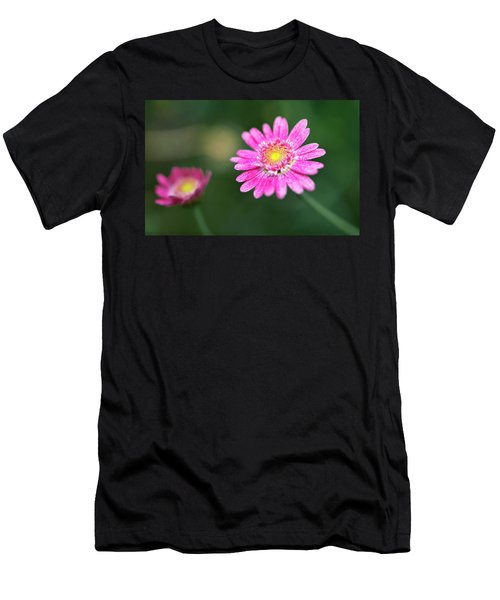 Men's T-Shirt (Athletic Fit) featuring the photograph Daisy Flower by Pradeep Raja Prints