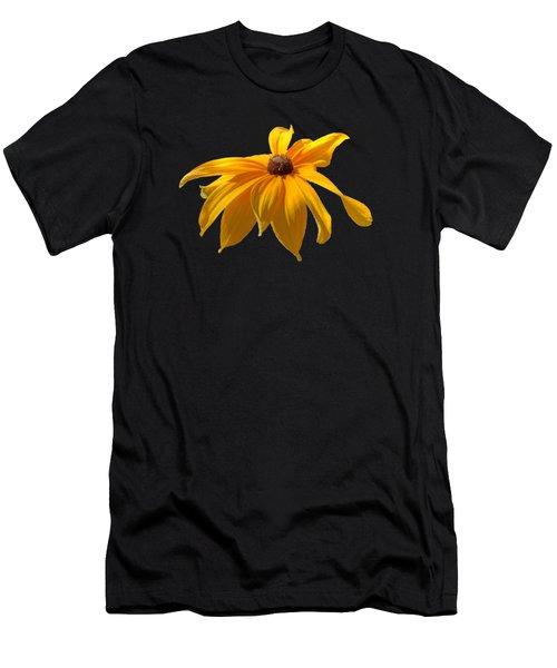 Daisy - Flower - Transparent Men's T-Shirt (Athletic Fit)