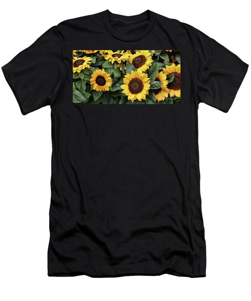 Daisy Yellow  Men's T-Shirt (Athletic Fit)