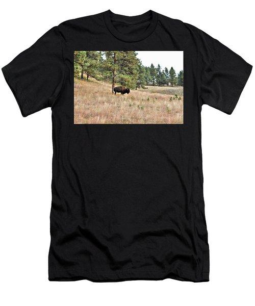 Dakota Bison Men's T-Shirt (Athletic Fit)