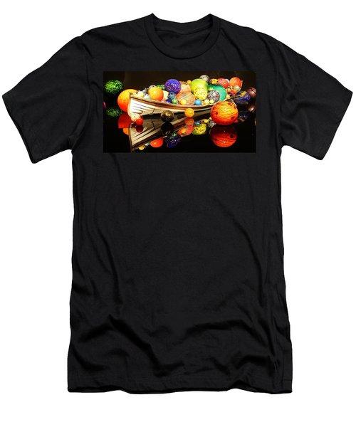 Glass Sculpture Boat Men's T-Shirt (Athletic Fit)